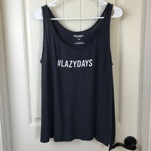 $5 SALE❗️Old Navy #Lazydays Tank Top